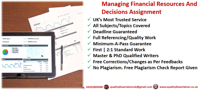 business managing financial resources and decisions essay This article discusses the role of finance in strategic planning, decision making healthcare financial management, 60 business human resources.